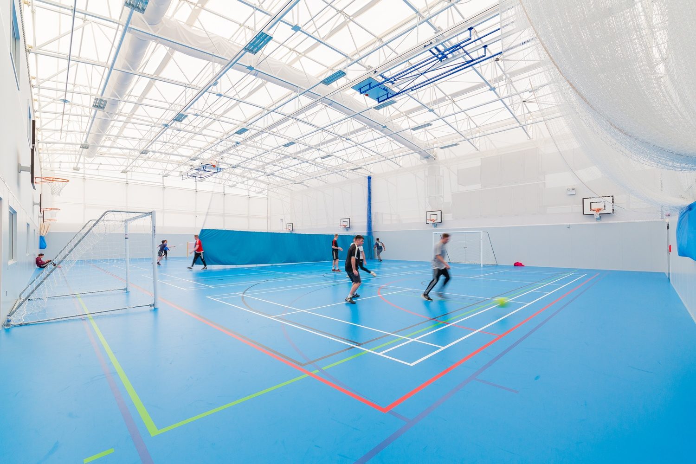 Fourt_Court_Sports_Facility_Internal