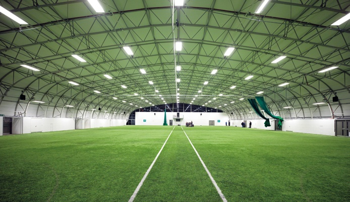 Tensile Housing Indoor Football Pitch